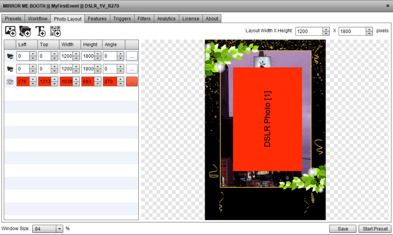 How To Add Dynamic Overlays\Backgrounds To Your Photo Layout